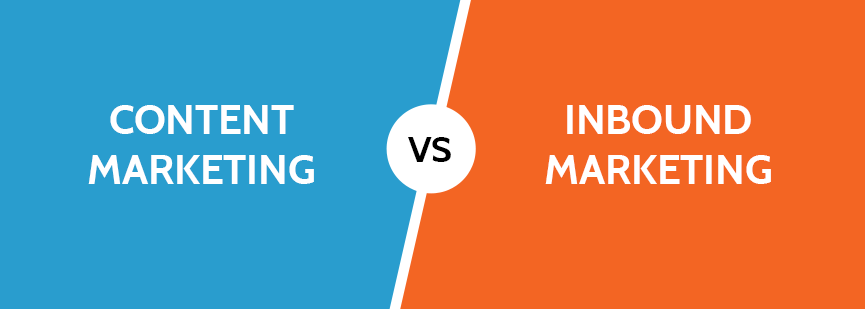 content marketing versus inbound marketing